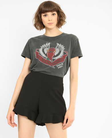 T-Shirt Guns N'Roses Bordeauxrot