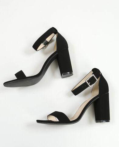 Sandalen mit Absatz Schwarz