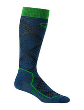 Mens Ski+ Ultra Light Over the Calf Sock Piste