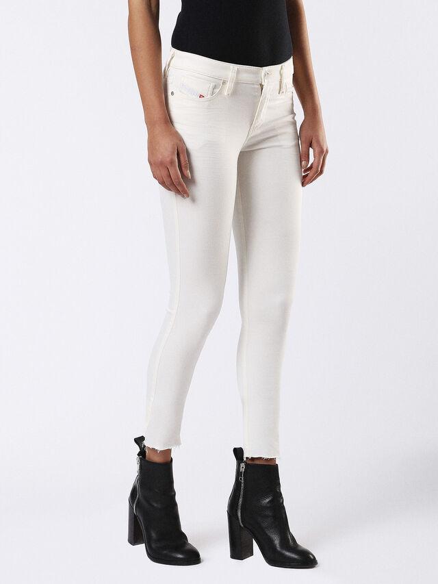 SKINZEE 0682X, White Jeans