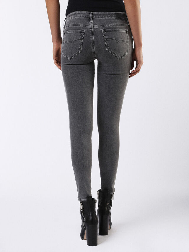 SKINZEE-ZIP 0681F, Dark Grey
