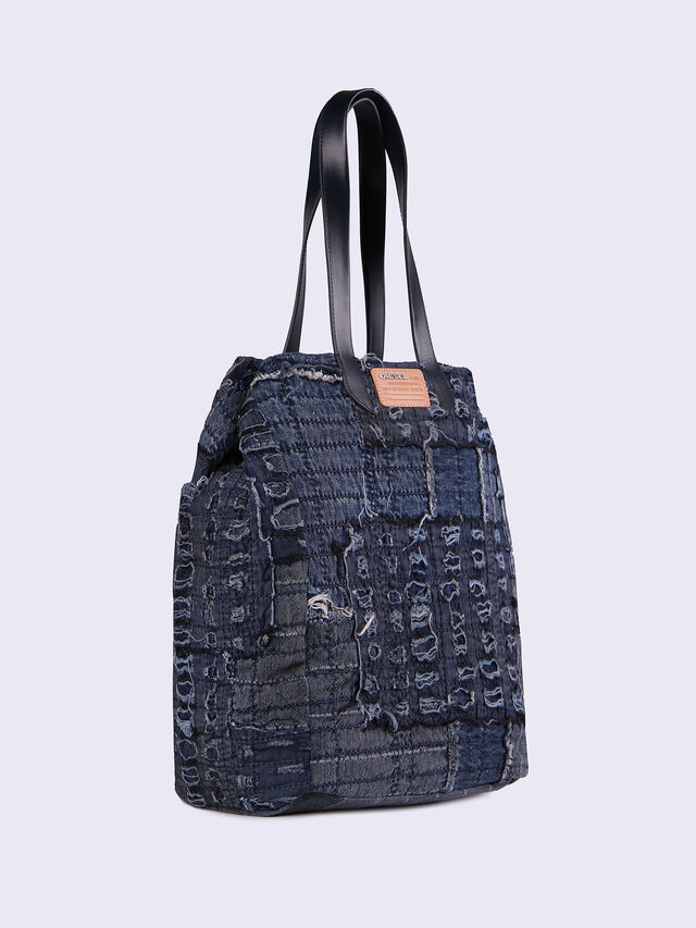 D-ROPPONGY TOTE, Blue jeans