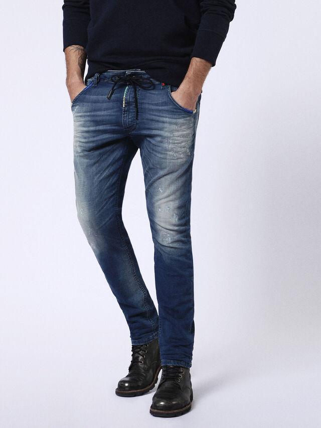 KROOLEY CB JOGGJEANS 0680Y, Blue jeans