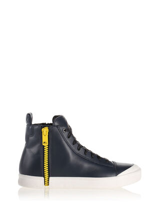 ZIP-ROUND S-NENTISH, Black/yellow fluo