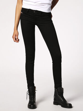 SKINZEE-LOW 0813E, Denim noir