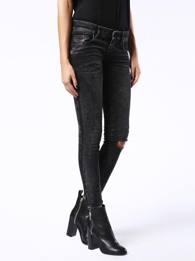GRUPEE. 0679B, Black Jeans