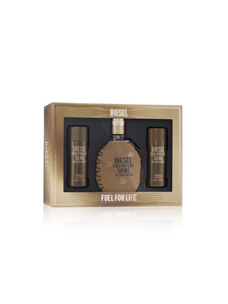 FUEL FOR LIFE 50ML GIFT SET, Brown