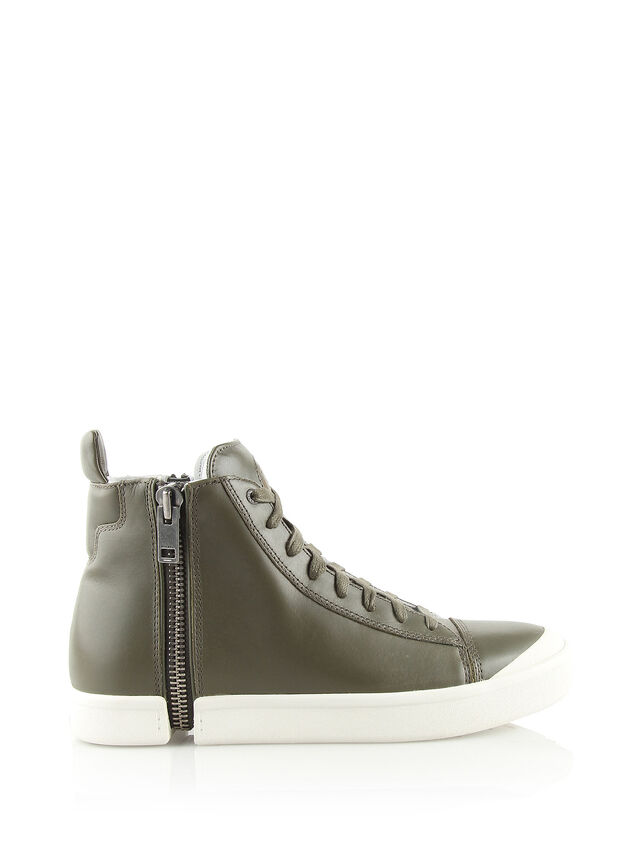ZIP-ROUND S-NENTISH, Olive Green