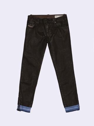 GRUPEEN-ZIP-J, Black Jeans