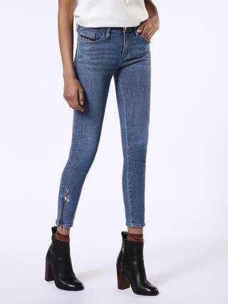 SKINZEE-ZIP 0683V, Blue jeans