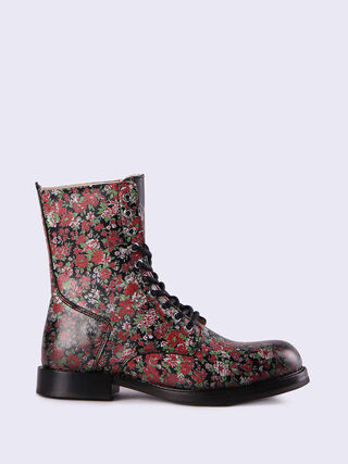 D-KOMB BOOT CB, Black/poppy red