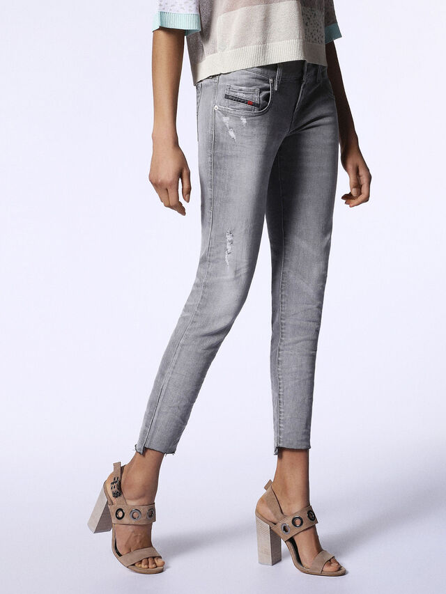 GRUPEE ANKLE-C2 0682Z, Grey jeans