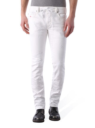 THAVAR SP JOGGJEANS 0672D, White Jeans