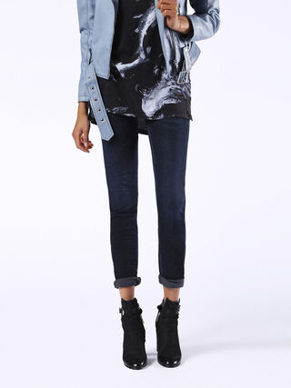 DORIS JOGGJEANS 0842W, Blue jeans