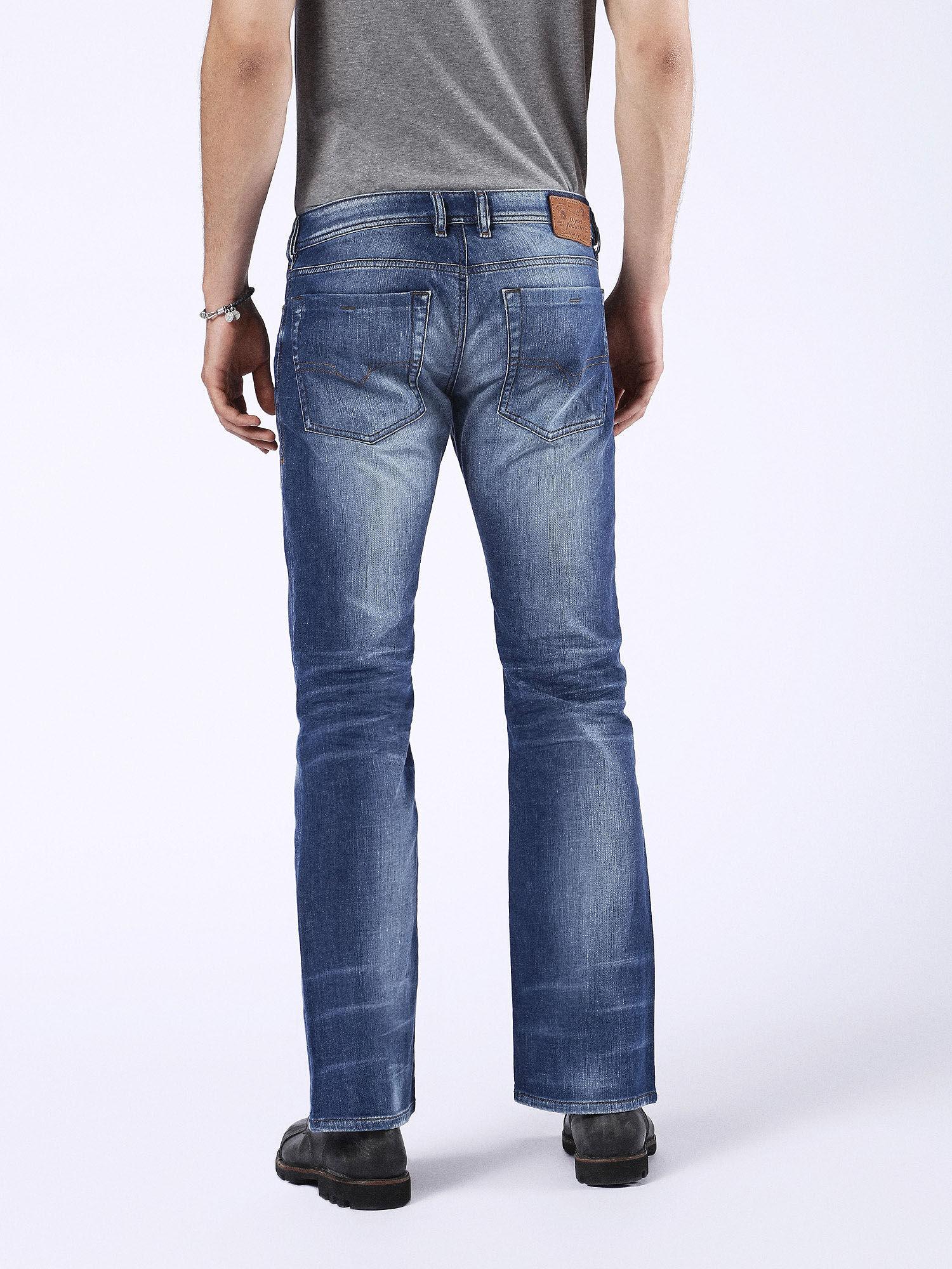 Diesel zathan bootcut jeans blue