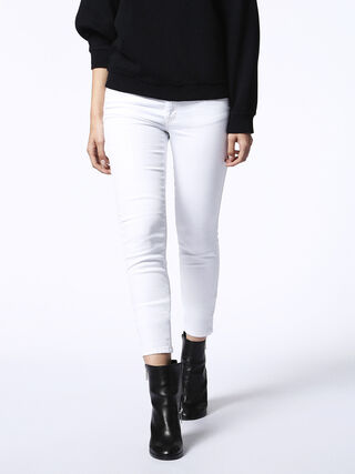 DORIS JOGGJEANS 0663V, White Jeans