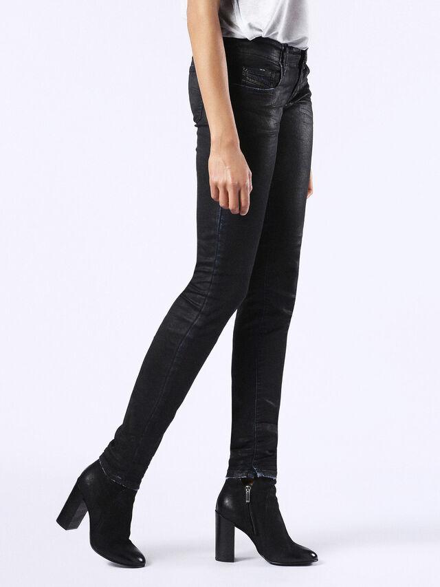 GRUPEE JOGGJEANS 0676K, Black Jeans