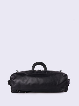 L-SIGNATURED DUFFLE, Black