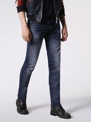THAVAR SP JOGGJEANS 0684W, Blue jeans
