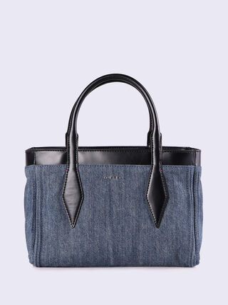 REVERSY TOTE SMALL, Blue jeans