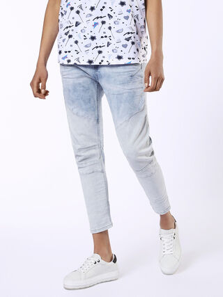 FAYZA-C JOGGJEANS C682U, Light Blue