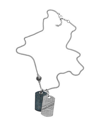 NECKLACE DX0917, America Silver
