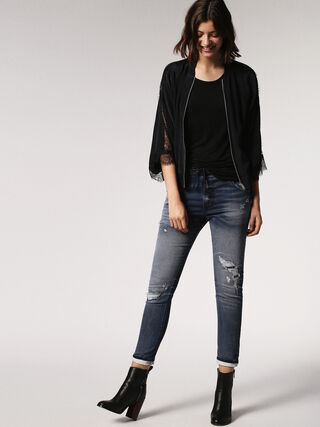KRAILEY JOGGJEANS 0684W, Blue jeans