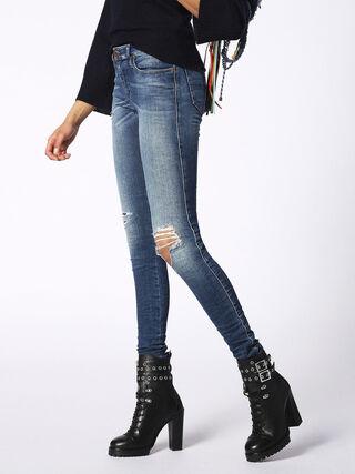 SKINZEE 084KD, Blue jeans