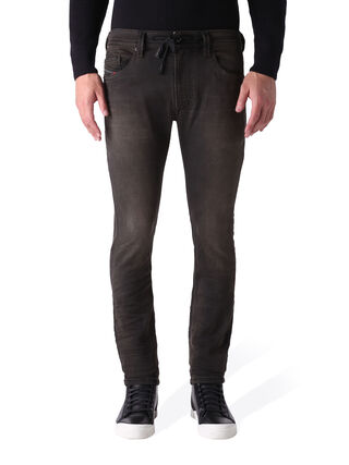 THAVAR SP JOGGJEANS 0848G, Black denim