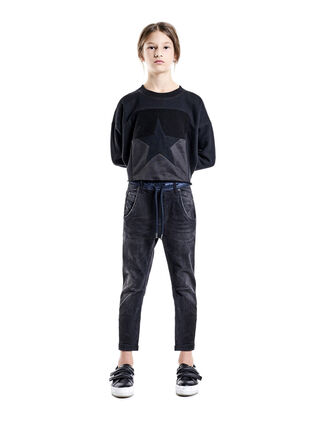 FAYZA-NE-J, Black Jeans