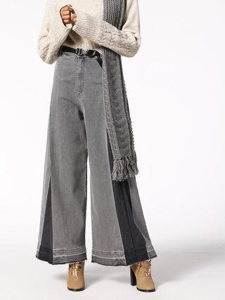 DE-IZZY-LONG-P, Grey jeans