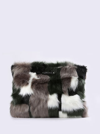 FURRY-CLUTCH, Grey