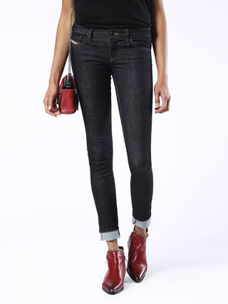 SKINZEE-LOW 0813C, Dark denim