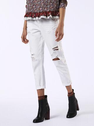 FAYZA-EVO 0680K, White Jeans