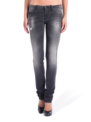 GRUPEE JOGGJEANS 0835B, Grey jeans