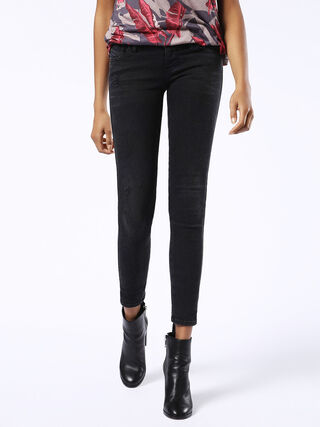 SKINZEE-LOW 0860U, Black Jeans