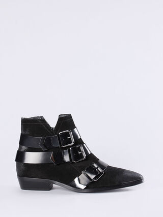 D-ENILLA BUCKLE, Black
