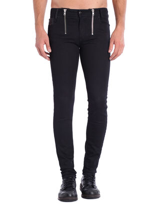 SLEENKER ZIP JOGGJEANS 0608V, Dark Blue