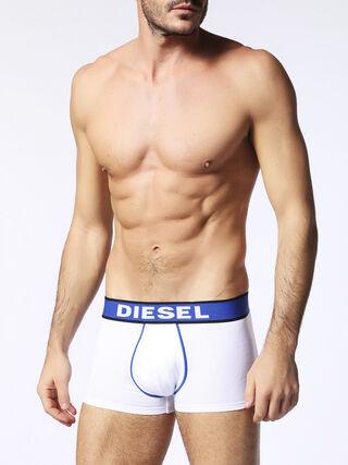 D, White/blue