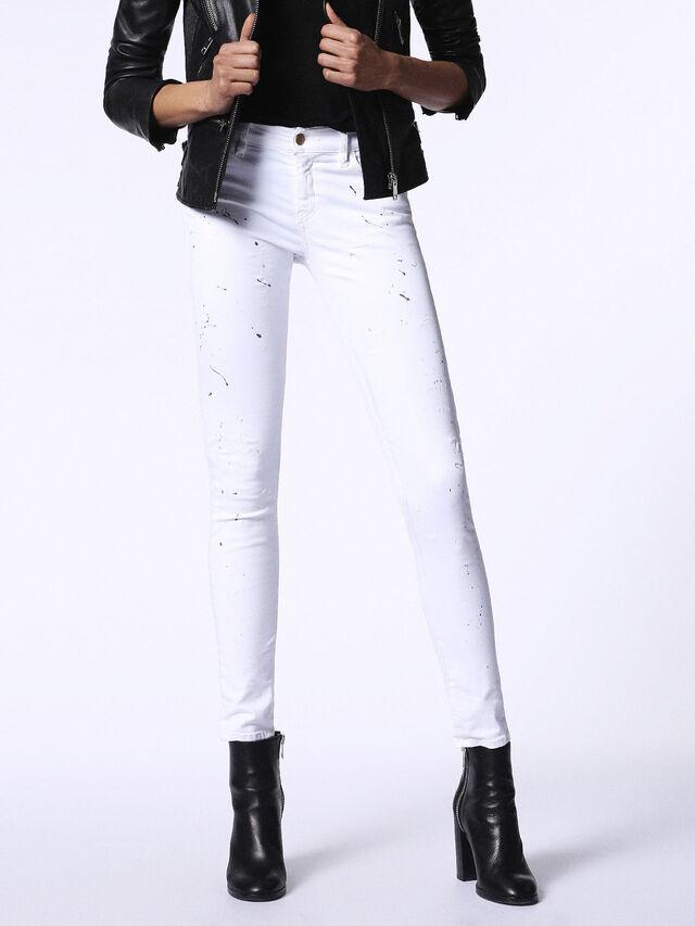 SLANDY 0682J, White Jeans