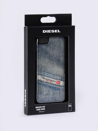 PLUTON IPHONE 7 POCKET SNAP CASE, Jean bleu
