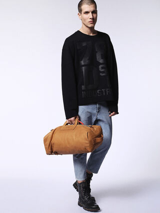 L-SIGNATURED DUFFLE, Camel
