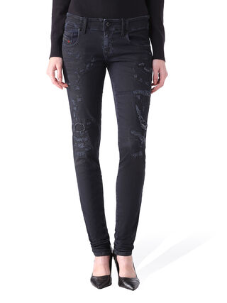 GRUPEE JOGGJEANS 0849K, Black denim