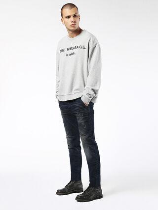 SLIM-CHINO M 0677K, Blue jeans
