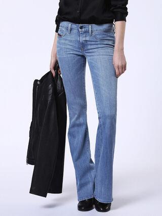 LIVIER-FLARE 084DA, Blue jeans