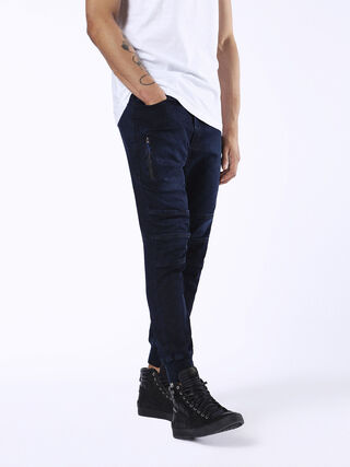 MDY PANTS 2 JOGGJEANS 0677W, Dark Blue