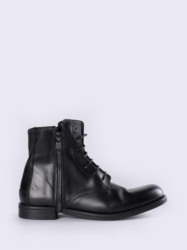 D-ZIPPHIM BOOT, Black