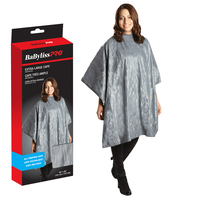 BaByliss Pro - Extra Large All Purpose Waterproof Gray Cape
