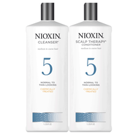 System 5 Cleanser & Scalp Therapy Liter Duo