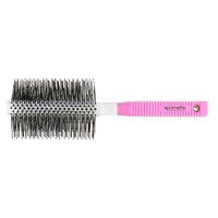 Pink and White Soft Nylon Round Brush XL - 2.5 Inch